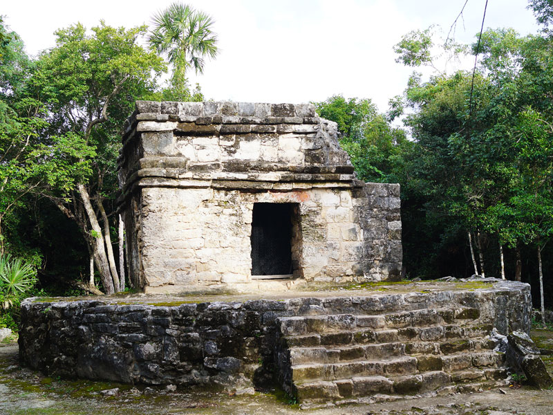 Mayan Ruins San Gervasio Tulum Light Of Cozumel Travelspotting
